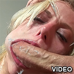 Platinum Blonde Honey Sucking A Monster Phallus